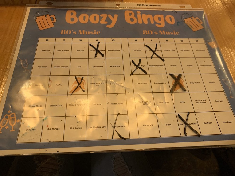 music-bingo