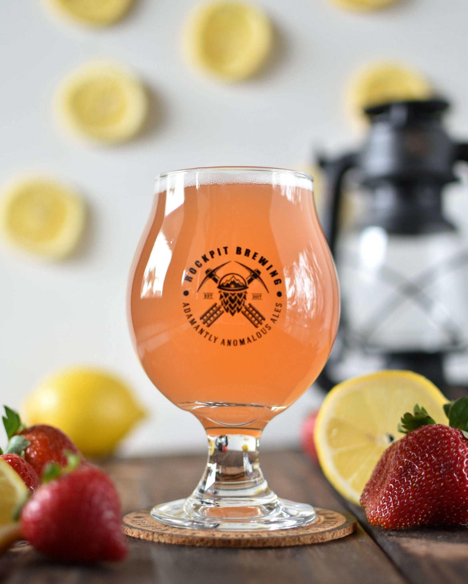 Rock Hard Water Strawberry Lemon